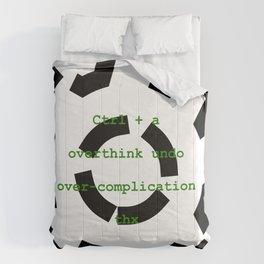 Ctrl + a Comforters