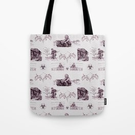 Post Apocalyptic Toile Tote Bag
