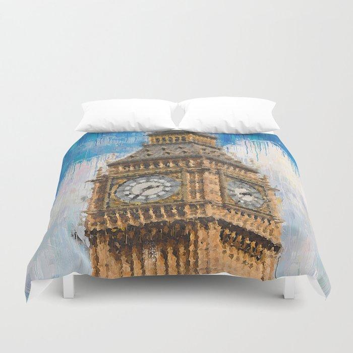 Big Ben of London Duvet Cover