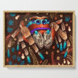 Jumping Spider Serving Tray