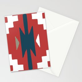 Adirondack Red and Blue Stationery Cards