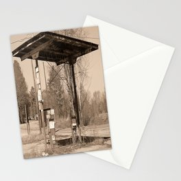 Gone Gas Stationery Cards