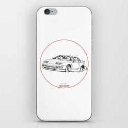 Crazy Car Art 0216 iPhone Skin