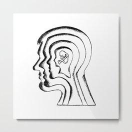 Aging / Identity Metal Print