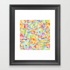 Beach Party Framed Art Print