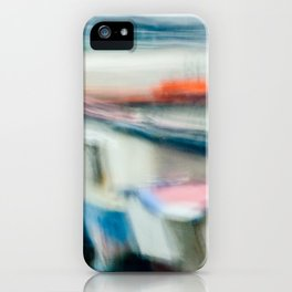 Boats Painting iPhone Case