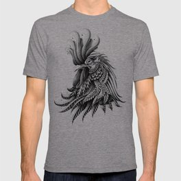 Ornately Decorated Rooster T-shirt