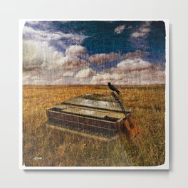 A Discarded Sound Metal Print