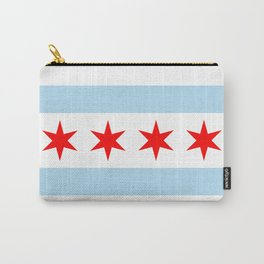 Chicago City Flag Windy City Standard Carry-All Pouch