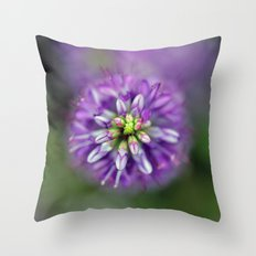 Hebe from above Throw Pillow