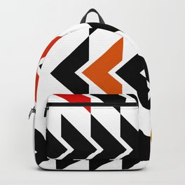 Arrows Graphic Art Design Backpack