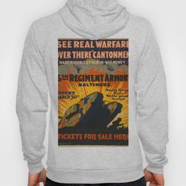 Vintage poster - Fifth Regiment Armory Hoody