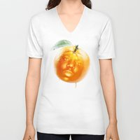 biggie smalls V-neck T-shirts featuring Biggie Smalls always Juicy  by Razorface