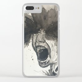 The Pain of Cluster Headaches Clear iPhone Case