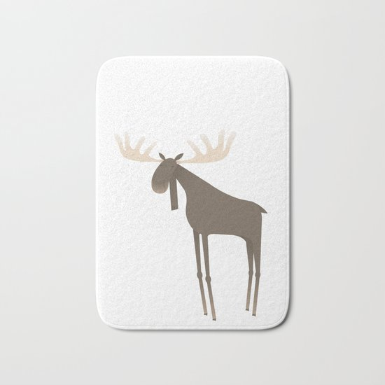 Moose Bath Mat