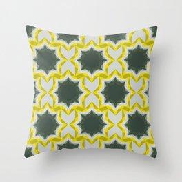 Weird Squares Throw Pillow