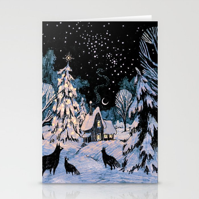 Yule Stationery Cards