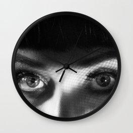 Femme Fatale Look Wall Clock