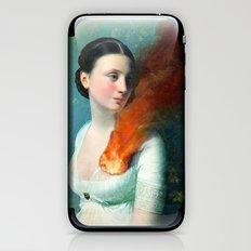 Portrait of a Heart iPhone & iPod Skin