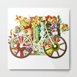 wheels of fortune Metal Print
