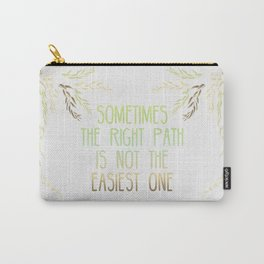 Grandmother Willow's Words Carry-All Pouch