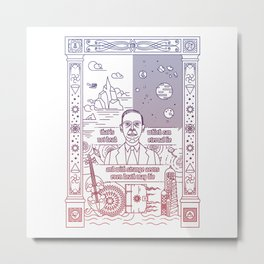 Love the craft Metal Print