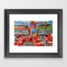 Rock n Roll 1 Framed Art Print