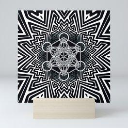 sayagata variation/metatron Mini Art Print