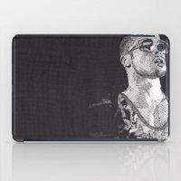 tyler durden iPad Cases featuring Tyler Durden by Rik Reimert