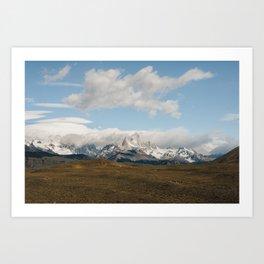 Classic Patagonia Art Print