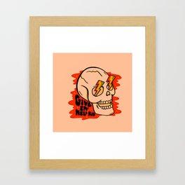 Give 'Em Hell Framed Art Print