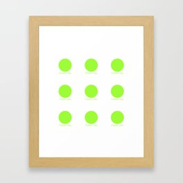 French Lime Framed Art Print