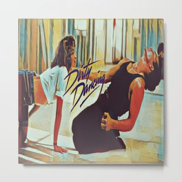 Dirty Dancing Metal Print