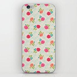 Vintage Farm floral iPhone Skin