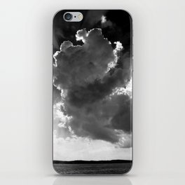 Clouds over Lake Constance iPhone Skin