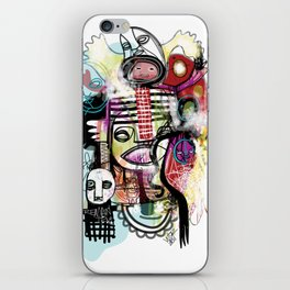 """Remain"" iPhone Skin"