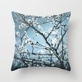 Sure Sign of Spring Throw Pillow