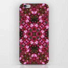 Spring blossoms kaleidoscope - Strawberry Parfait Crabapple iPhone Skin