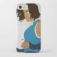 the legend of korra iPhone & iPod Cases featuring Korra by MJ Erickson