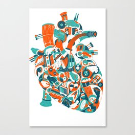 Music in your heart? Canvas Print