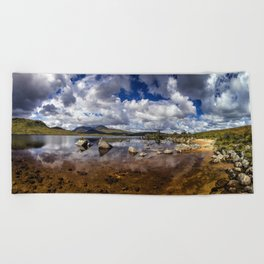 Rannoch Moor Beach Towel
