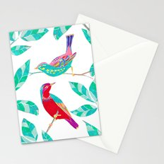 Songbirds 1 Stationery Cards