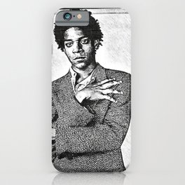 Jean-Michel Basquiat - American Haitian Puerto Rican Icon - Society6 Home PopArt 12-28 iPhone Case