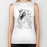 gypsy Biker Tanks featuring Gypsy  by ericlvargas