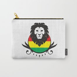 Rasta Lion Crest Carry-All Pouch