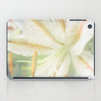 lily iPad Cases featuring Lily by Deepti Munshaw