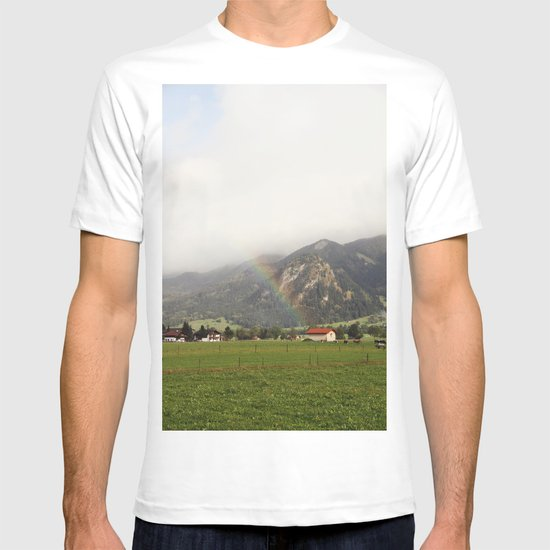 Rainbow in the Valley T-shirt