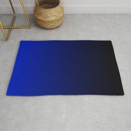 Black and Dark Blue Gradient 062 Rug