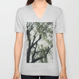 Beneath the Willow Tree Unisex V-Neck