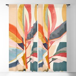 Colorful Branching Out 05 Blackout Curtain